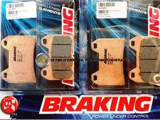 MOTO GUZZI GRISO 8 V 1200 2011 11 PASTIGLIE ANTERIORE SINTERIZZATE FRENO BRAKING
