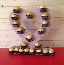 Table decoration ferrero rocher small chocolate stand , weddings parties