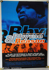 RHYME & REASON DS ROLLED ORIG 1SH MOVIE POSTER DR. DRE NAS WU-TANG CLAN (1997)