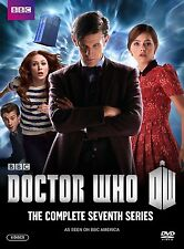 Doctor Who: The Complete Seventh Series, Season 7 (DVD, 2013, 5 Disc Set) , NEW
