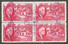 OLD us stamp usa sc#931 block WW2 son cds detroit mich. victory loan 1945