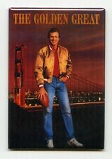 JOE MONTANA / GOLDEN GREAT - COSTACOS POSTER FRIDGE MAGNET (vintage rice 49ers)