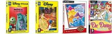disney monsters inc 1+2 & beauty and the beast & boohbah & dr daisy   new&sealed
