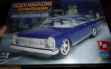 AMT 1965 FORD GALAXIE 500 RIDES 1/25 Model Car Mountain KIT FS