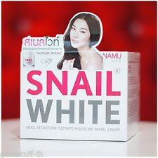 SNAIL WHITE NAMU FACE CREAM SKIN REGENERATE RECOVERY RENEW MOISTURIZER +TRACKING
