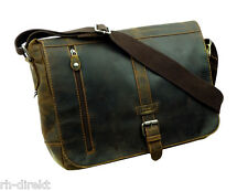 LandLeder  1003 -Old School-Messenger Bag XL Postbag Unisex