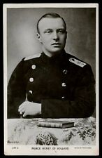 Royalty Prince Henry of HOLLAND 1910 RP PPC
