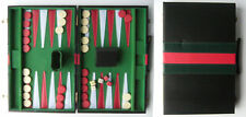 "Backgammon game 18½"" x 14½"" when open. FREE P&P in UK."