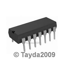 2 x LM723CN LM723 IC Adj. Voltage Regulator 2-37V 150mA