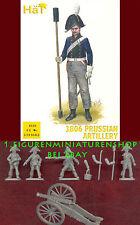 1:72 figuras 8230 Prussian artillery-valeroso