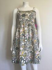 Liberty Of London Target Dress New NWT Cotton Floral Sundress Sz Large Summer