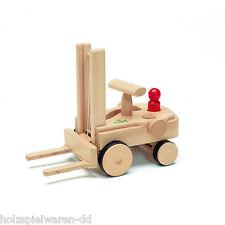 nic 1884 Creamobil Gabelstapler mit Stapelkiste + Figur Holz NEU!     #