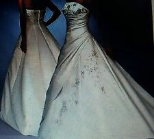 BEAUTIFUL WEDDING GOWN BY FOREVER YOURS  STYLE # 42211 / NWT / SIZE 10