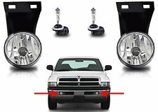 Replacement Fog Lights For 1994-2001 Dodge Ram CH2593120 CH2592120 New Free Ship