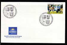 URUGUAY 2006 RUGBY WORLD CUP FDC COVER TACKLE BIRD LAPWING EMBLEM