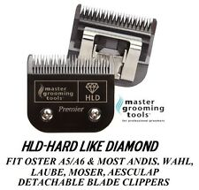 HLD(LIKE TITANIUM)PRO Pet Grooming 10 Blade*Fit Oster A5,MOST Andis,Wahl Clipper