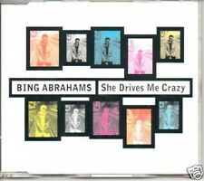 (188S) Bing Abrahams, She Drives Me Crazy - 1997 DJ CD