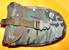 US  Army Multicam E Tool  Tri Fold Folding shovel cover Brand new MOLLE rigged