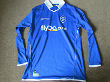 Diadora  BIRMINGHAM  City  FlyBe.com  FOOTBALL Shirt  CHILD Size JXL 13/14 years