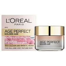 2 X L 'Oreal Edad Perfecto Golden Age DAY CREAM ROSY re-fortaleciendo Crema 50ml cada uno