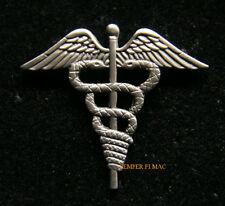 HOSPITAL CORPSMAN HM HAT LAPEL PIN DOC FMF US NAVY USS MARINES CADUCE GIFT WOW