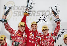 Kraihamer, Imperatori Hand Signed Rebellion Racing 12x8 Photo Le Mans 2016 7.