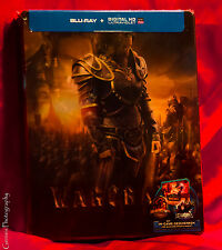Warcraft Exclusive Blu-ray Lenticular Steelbook Region Free Rare NEW