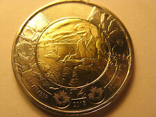 CANADA 2015 $2 COIN - FLANDERS FIELD WWII REMEMBRANCE DAY IN MINT CONDITION