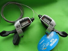 SL-T660 Gear Shifter Shifter Set Shimano Deore LX 3x9 silver with pull New