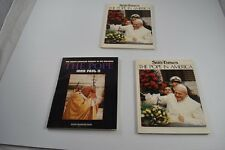 Lot Of 3 Pope John Paul Magazines Sun Times Pope In America American Journey