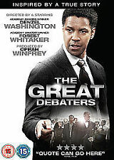 THE GREAT DEBATERS (Denzel Washington)  DVD - REGION 2 UK