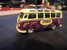NEW  johnney  lightning  JL    limeted  edition   PEZ   21 window  VW bus, minty