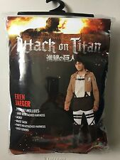 ATTACK ON TITAN ERIN JAEGER COSTUME Adult XL 5 Piece (Japanese Anime Cosplay)