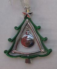 a Angels watch over us 3d CHRISTMAS TREE ORNAMENT charm Ganz