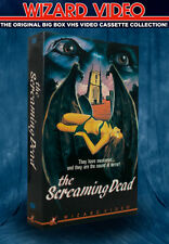 Jess Franco's The Screaming Dead- VHS - BIG BOX - Wizard Video 1972,  Dracula