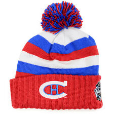 Mitchell & Ness Mens Winter Classic NHL Knit Hats (Montreal Canadiens Pom)