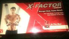 X-Factor Door Gym 210 Lbs Of Total Resistance That Attaches 2 Any Door - Weider