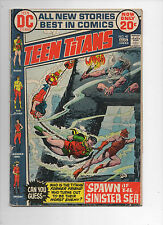Teen Titans #40 LOW GRADE coupon clipped from back cover