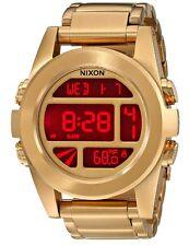 Nixon Unit Gold-Tone Mens Watch A360502