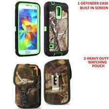 Defender Case w/Built In Screen+Belt Clip Holster Pouch For Samsung Galaxy S5