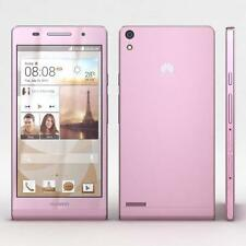 NUOVO Huawei Ascend P6 U9210 Manichino Display Telefono-ROSA-UK Venditore