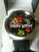 Rovio Angry Birds Authentic multiple bird green pig Watch NEW Collectible Box