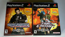 Time Crisis 3, Time Crisis Crisis Zone Playstation 2 (With Guncon 2 Controllers)