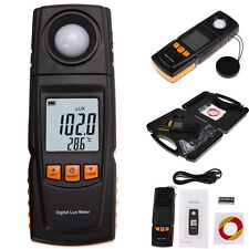Precise Digital Lux Meter Measure Light Lumens Lux 0-200000 Range Photometr LCD