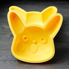 Pokemon Go Pikachu Cake Mold Cookie Pastry Baking Biscuit Fondant Silicone Mould