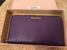 100% auth MIU MIU by PRADA wallet NEW