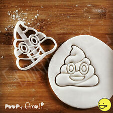 Poopy Emoji cookie cutter | birthday party gift for smiley face emojis lover