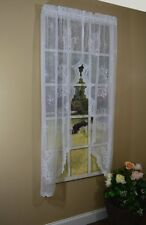 Curtain Chic Cameo Rose Swag, 63-Inch, White, New, Free Shipping