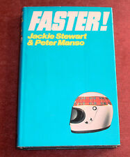 FASTER! Jackie Stewart – The Diary of a racer. Hard Back Book