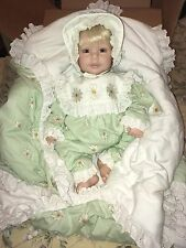 Adora Baby Doll Blonde Blue Eyes Daisy Outfit With Matching Blanket